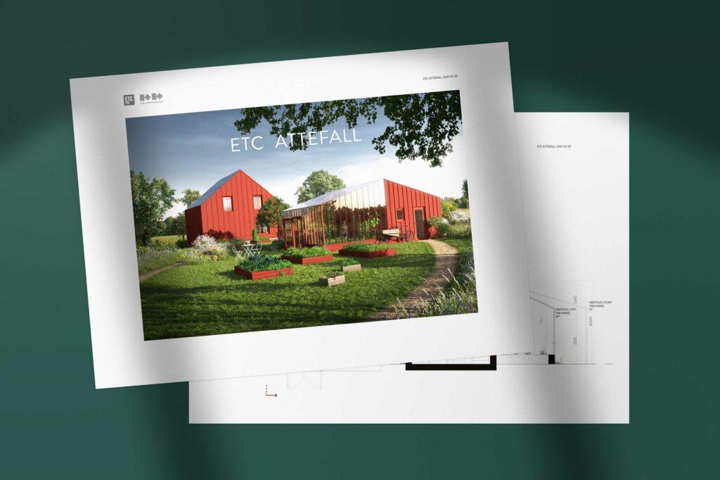 Se husen ETC jobbar med under hösten 2021