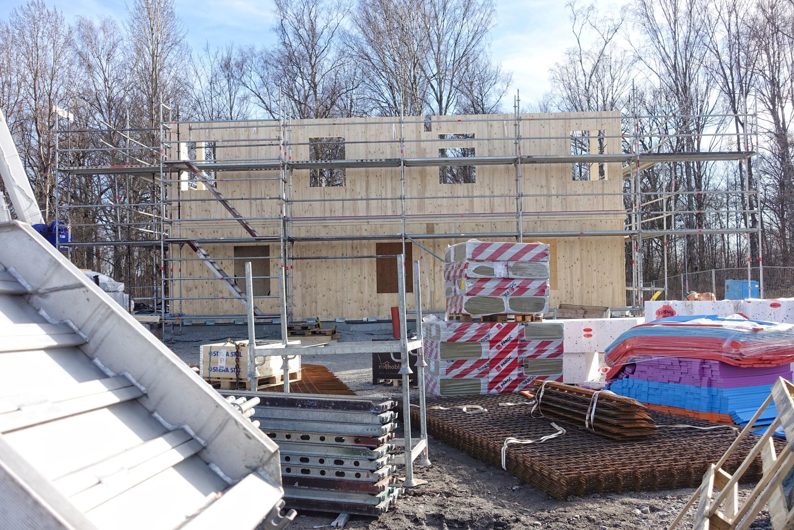 Såhär ser husbygget i Västerås ut nu.