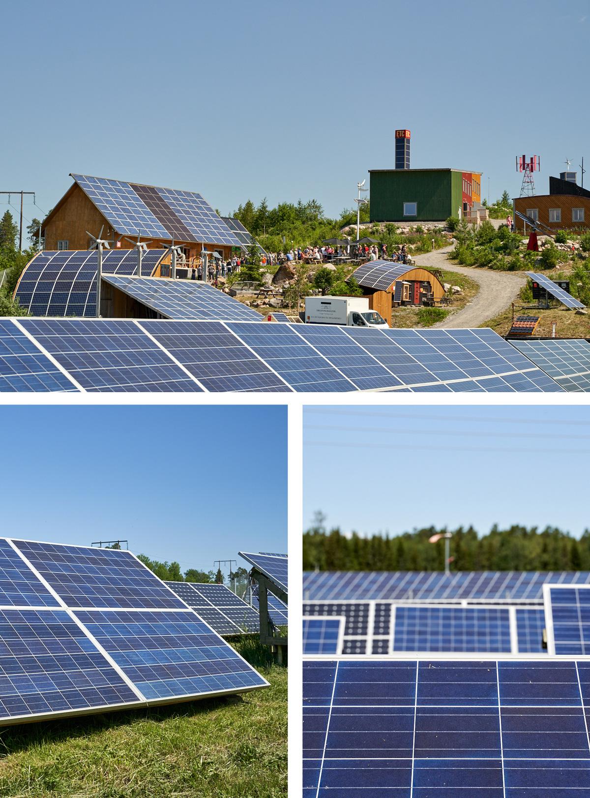 Seko sjöfolks solcellsanläggning installeras i ETC Solpark i Katrineholm. Parken är öppen att besöka året om.