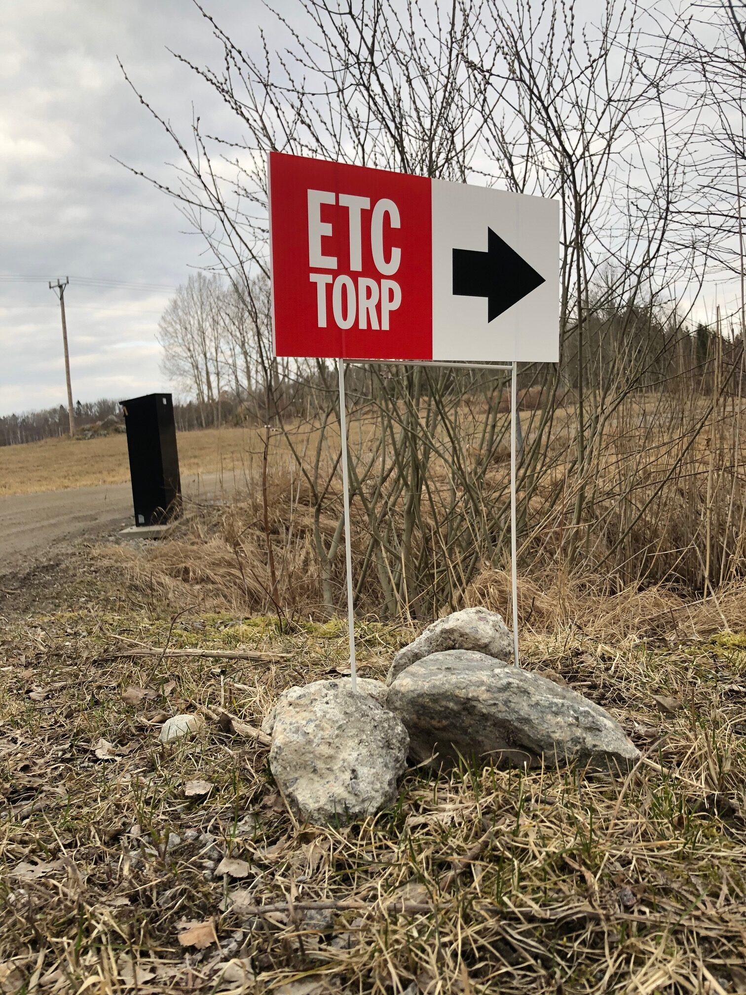 Ja, det blev ett ETC Torp!